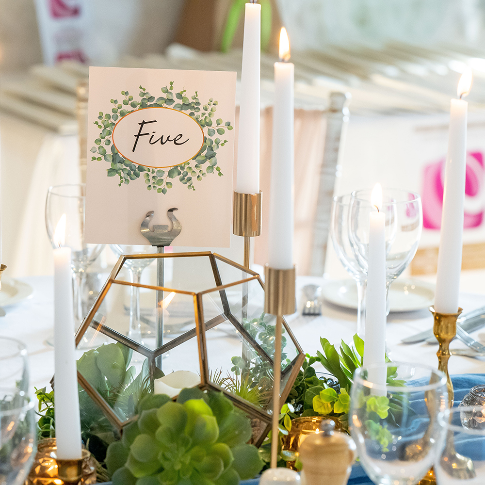 Hire Your Day - Green Table Setting