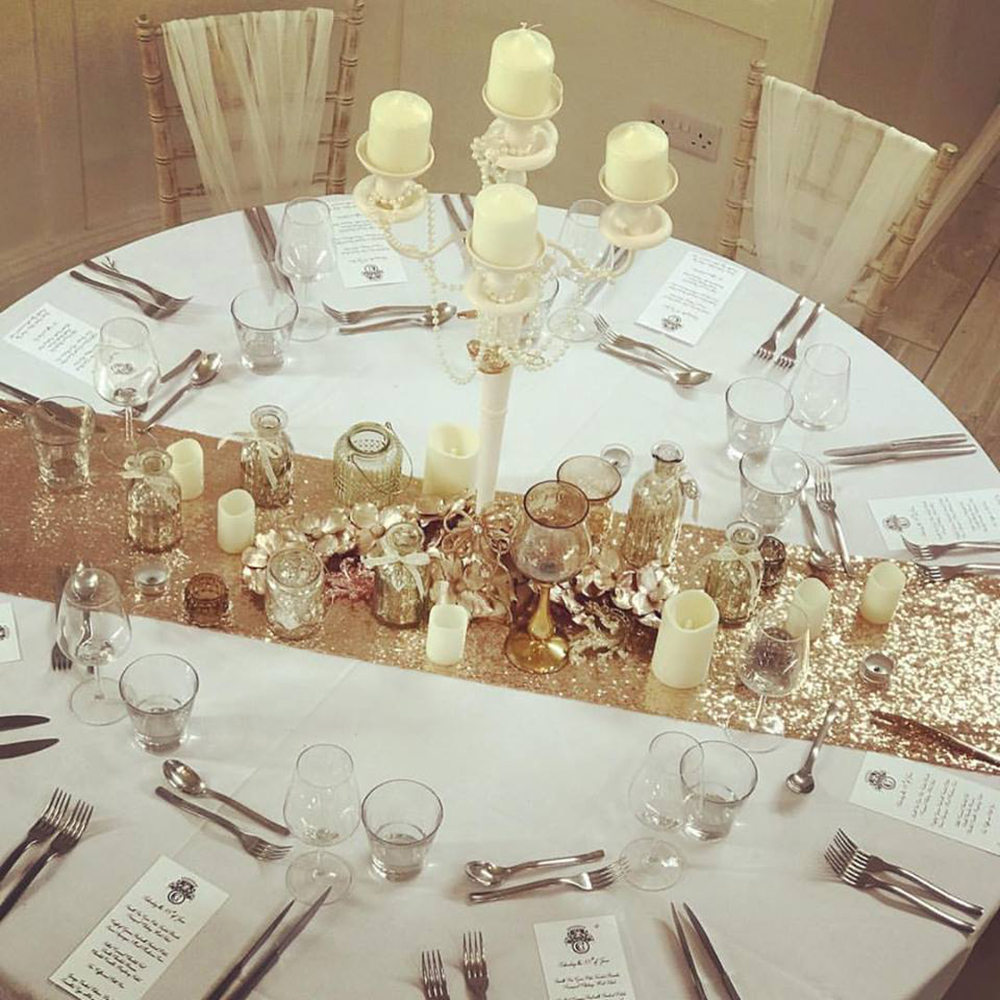 Hire Your Day Floral Table Setting